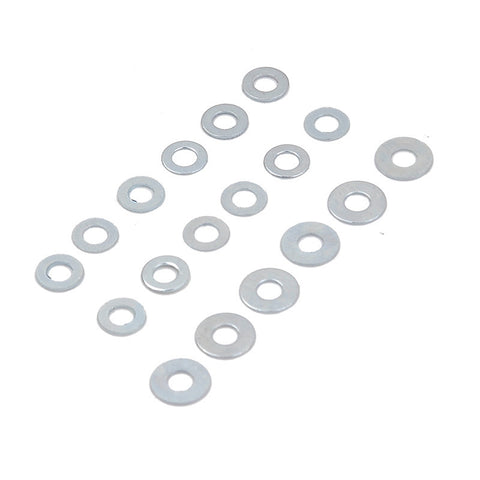 18PCS BEARING SHIMS 0.1/0.2/0.3/0.5 FOR Ver.2/3 Gearbox