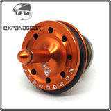 EXPANDGEAR Stnger Silent 8 Holes Piston Head FOR Ver.2/3 Gearbox