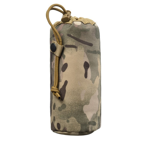 Tactical Military Molle System Water Bottle Bag Kettle Pouch Belt Holder
