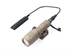 M300U Mini Scout Tactical Light White Infrared Output LED Weaponlight 300 Lumens