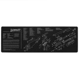 M870 Armorer Bench Mat Cleaning Mat Armorers Bench Mat Gaming Mouse Pad