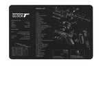 GLock Armorer Bench Mat Cleaning Mat Armorers Bench Mat Gaming Mouse pad