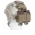 Tactical Pouch MK2 Battery Case for Helmet Hunting Camo 500D Nylon Bag