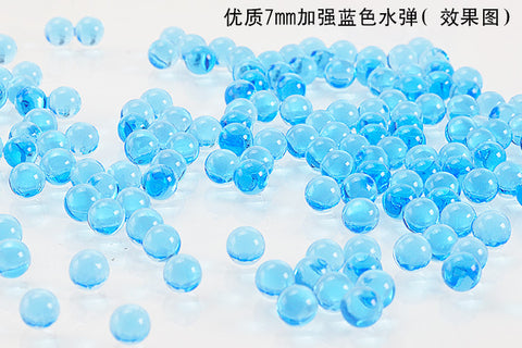 7-8mm Gel Blaster Ammo BLUE BRUISERS Hardened Comp Grade 100,000 Gel Balls