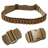 Hunting Shotgun Shell Bandolier 27 Rounds Over Shoulder Ammo Bullet Belt Band