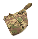 Tactical Chest Sling Bag Concealed Thin Spy Gun Holster Pouch