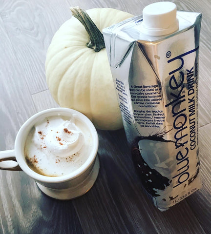 Blue Monkey Coconut Milk Pumpkin Spice Latte