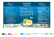 Load image into Gallery viewer, Blue Monkey Coconut Water