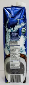 Organic Coconut Water 33.8oz/1L - 12 pack