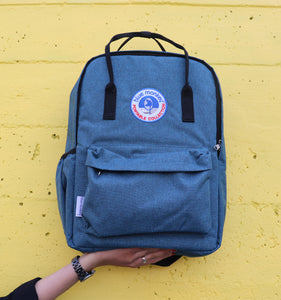 Blue Monkey Blue Backpack