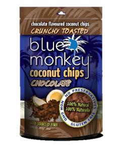 Blue Monkey Coconut Chips Chocolate