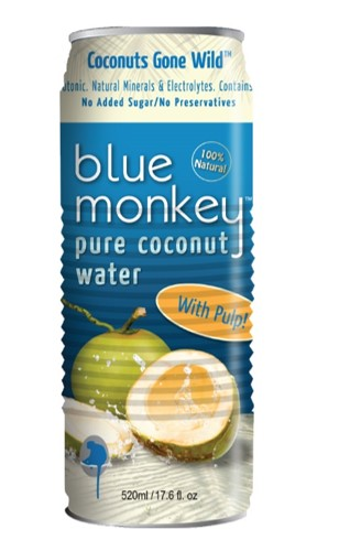 Coconut Water With Pulp 17.6oz/520ml - 24 pack