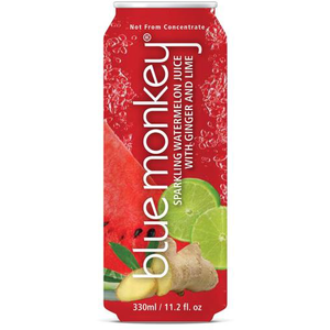 Sparkling Watermelon Juice with Ginger & Lime 11.2oz/330ml - 12 pack