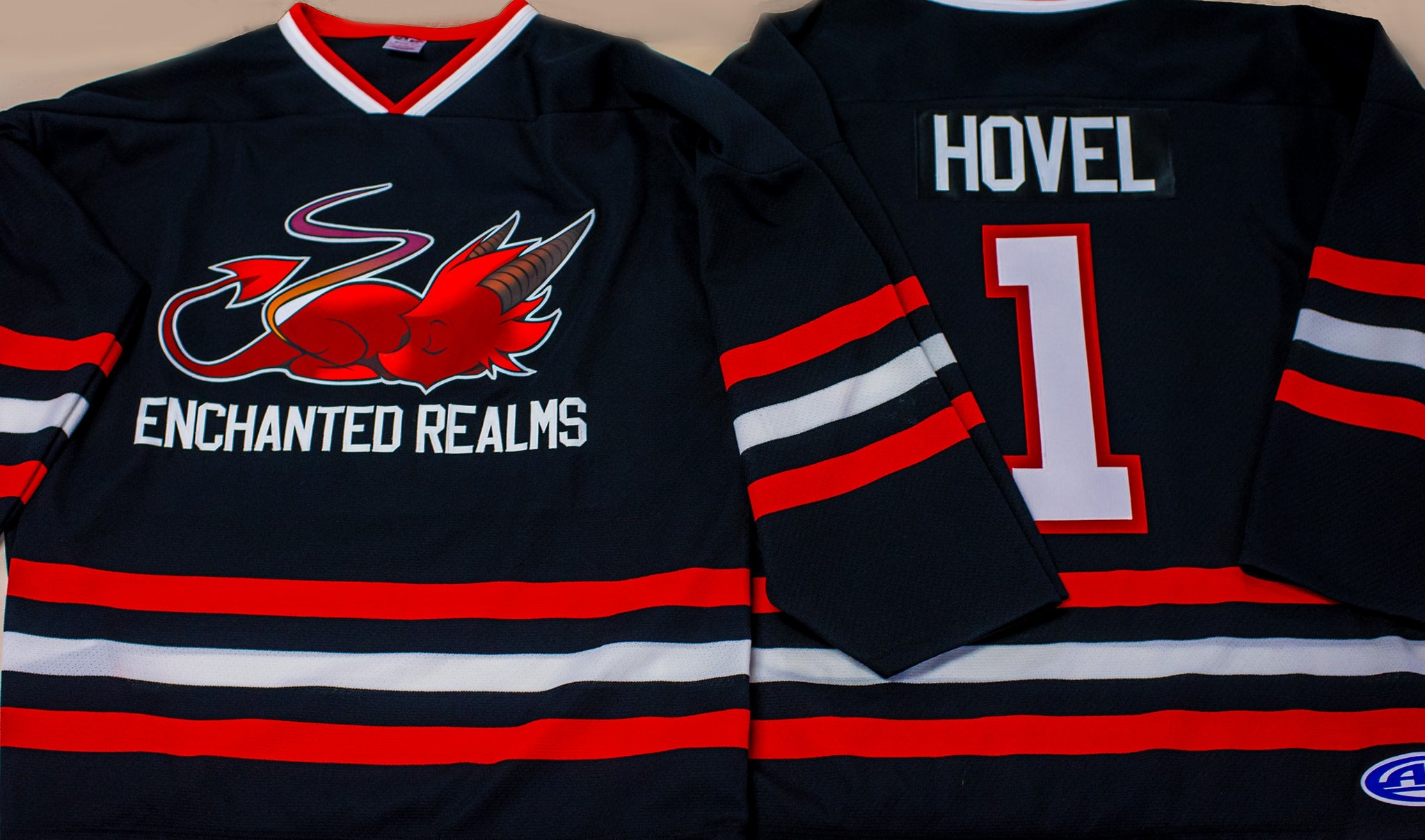Enchanted Realms Hockey Jersey | Enchanted Realms Games & Gifts
