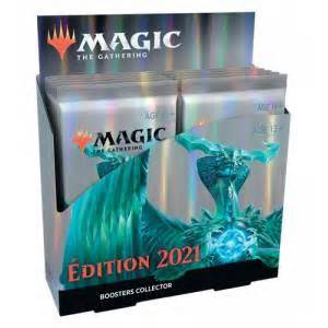 READ! MTG Core 2021 Collector Booster Pack Display with Store Credit | Enchanted Realms Games & Gifts