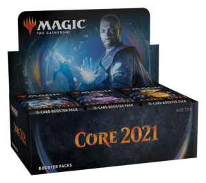 READ! MTG Core 2021 Booster Box with Store Credit | Enchanted Realms Games & Gifts