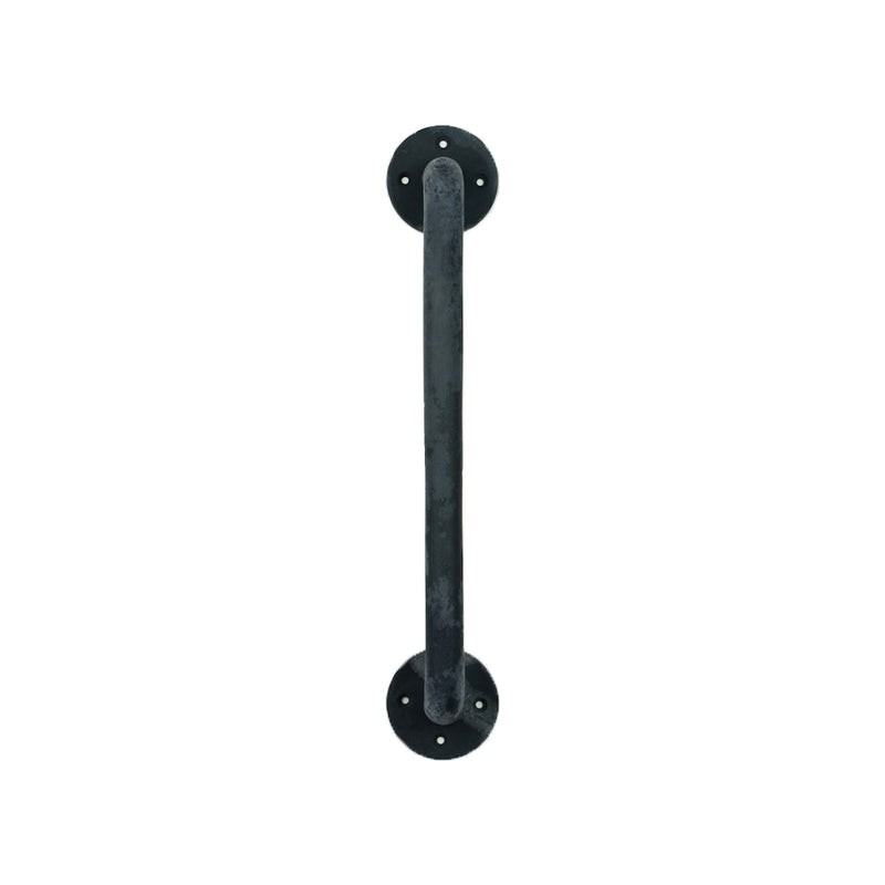 Round Bar Door Handle BK