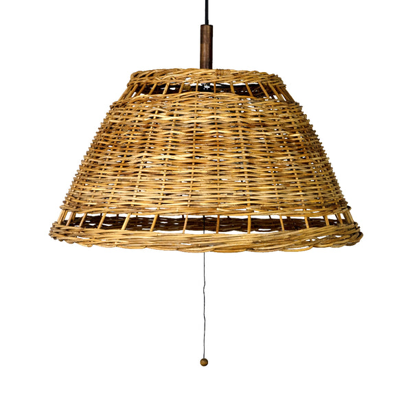RATTAN BOTTOM Pendant Light (灯具セット)