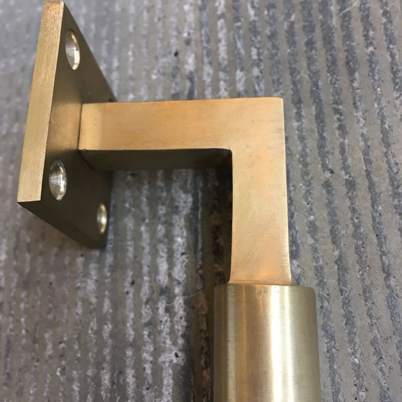 ROUND GRIP DOOR HANDLE (Gold) ドアハンドル