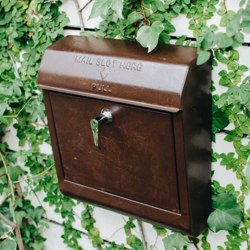 MAIL BOX (Antique Brown) ポスト