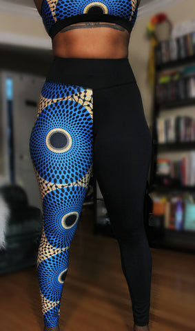Ahosi Blue Leggings