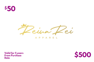Reina Rei Apparel-Gift Card