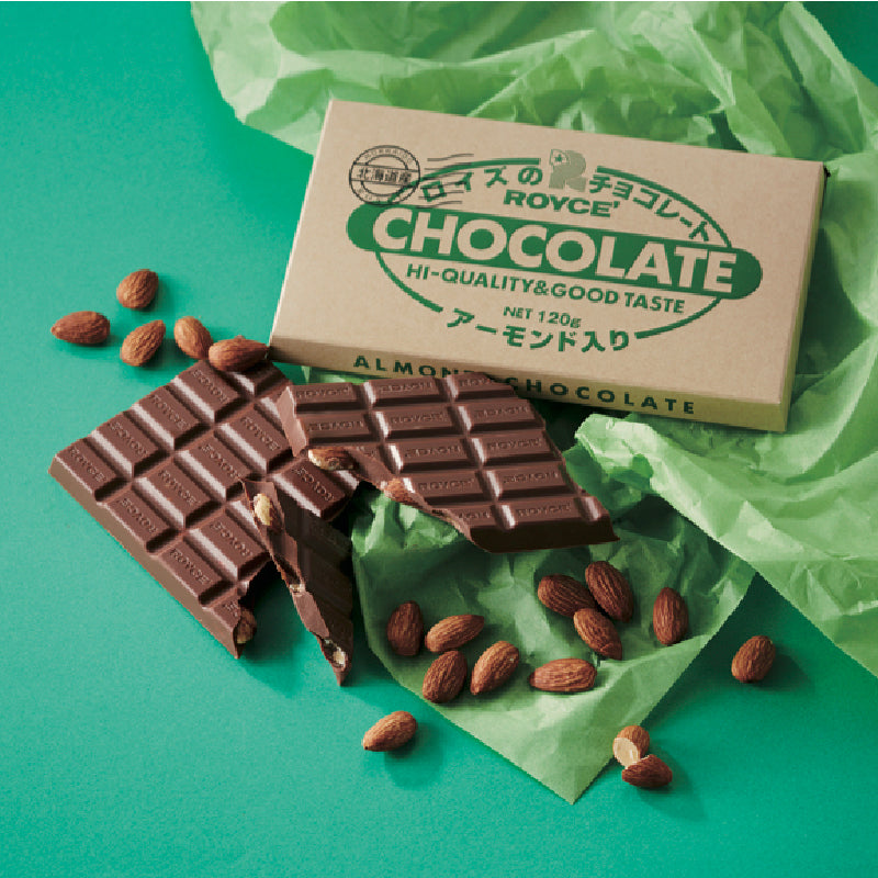 Bar Chocolate Almond - ROYCE' Chocolate Malaysia