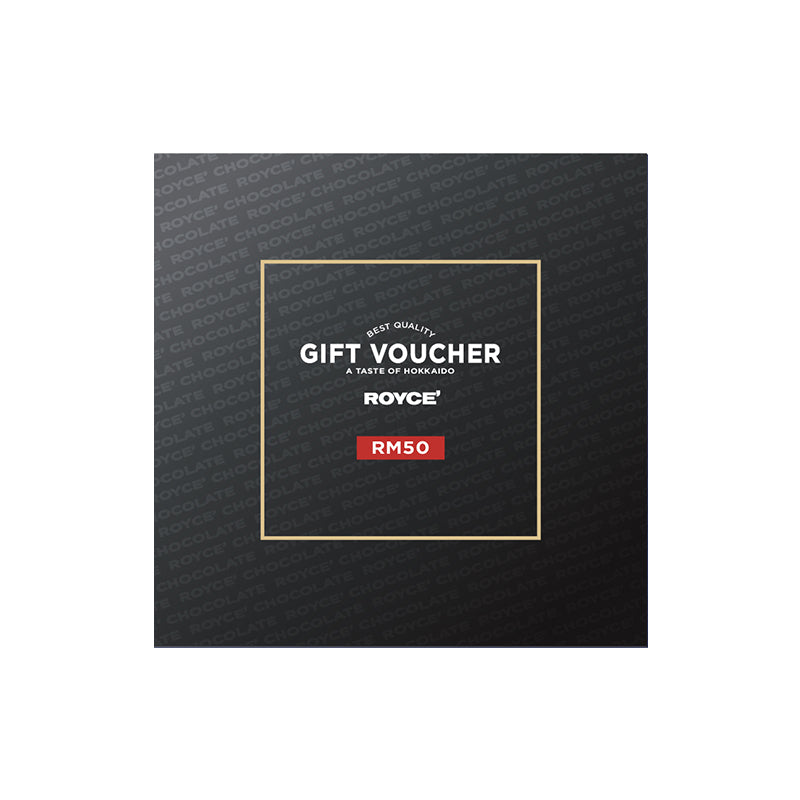Gift Vouchers RM50 Gift Voucher - ROYCE' Chocolate Malaysia