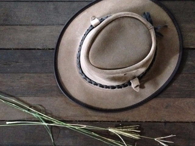 BAC PAC TRAVELLER LEATHER HAT