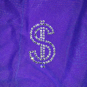 Ultraviolet | Money | Biker Shorts