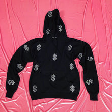 Load image into Gallery viewer, $ | Hoodie | Full Coverage | Black