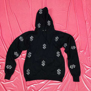 $ | Hoodie | Full Coverage | Black