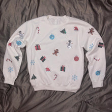 Load image into Gallery viewer, Crystal Christmas Crewneck | Full Coverage