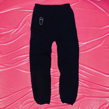 "Load image into Gallery viewer, ""Im So Dead"" Crystal Casket Sweatpants"