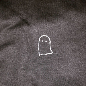 """Ghosted"" Crystal Ghost Crewneck"