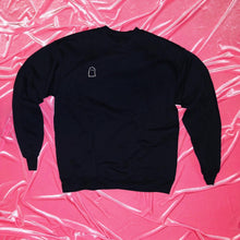 "Load image into Gallery viewer, ""Ghosted"" Crystal Ghost Crewneck"