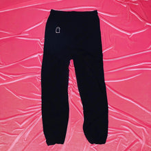 "Load image into Gallery viewer, ""Ghosted"" Crystal Ghost Sweatpants"
