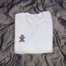 Load image into Gallery viewer, Crystal Gingerbread Crewneck