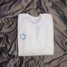 Load image into Gallery viewer, Crystal Star Of David Crewneck