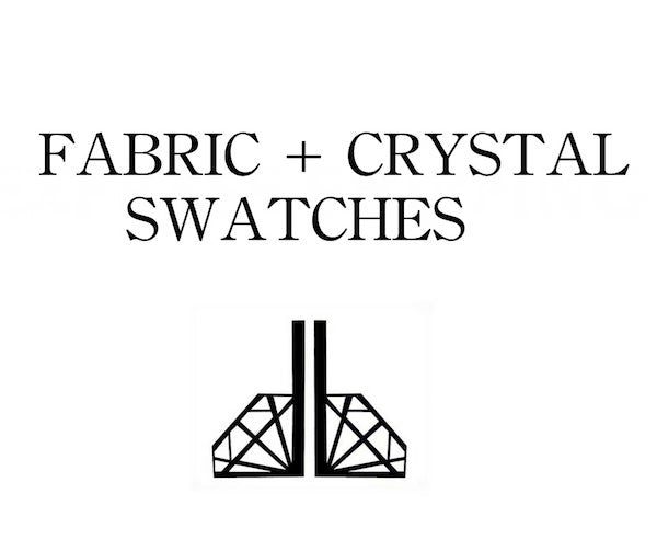 SAMPLE FABRIC | CRYSTAL SWATCHES