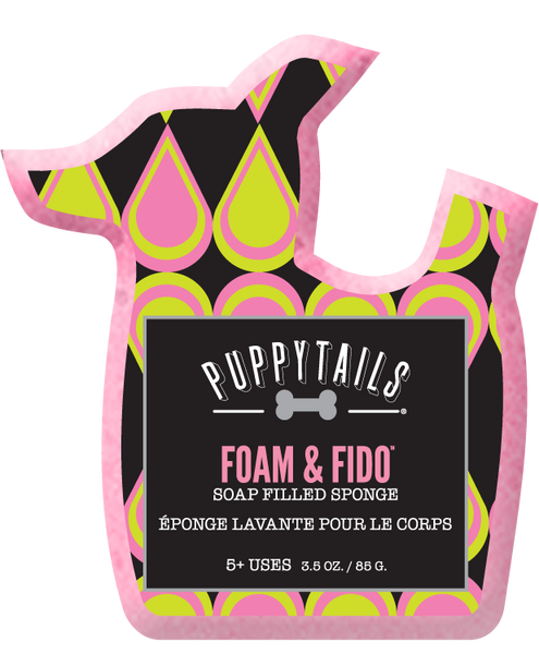 Foam & Fido -Soap infused sponge