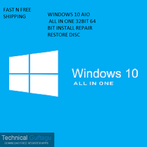Microsoft Windows 10 home pro  Install Repair Recovery Disc - MySoftwaredeals