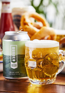 Burger Beer Lager - 4.2% ABV X 6