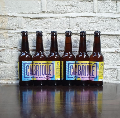 Birra Cabriole Unfiltered Lager x 6