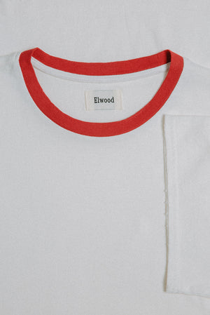 RINGER TEE WHITE 2 PACK