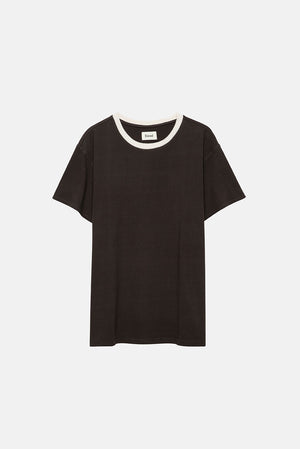 RINGER TEE BLACK 2 PACK