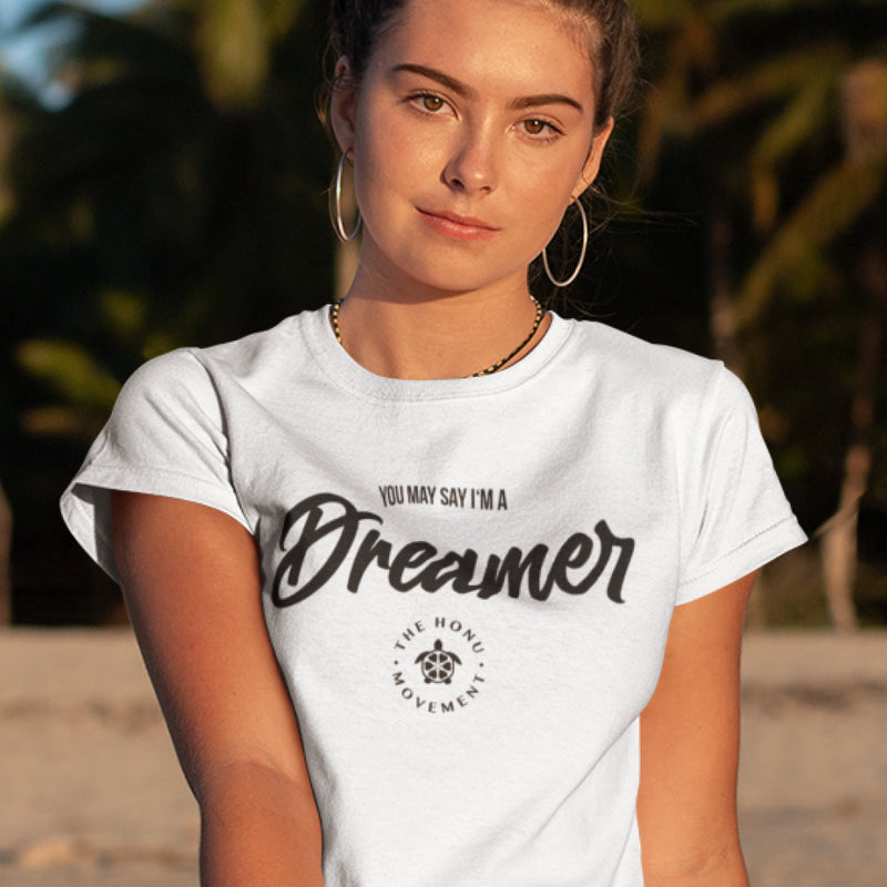"Damen Honu Movement Bio T-Shirt ""Dreamer"""
