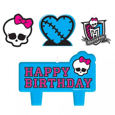 Monster High Birthday Candle Set