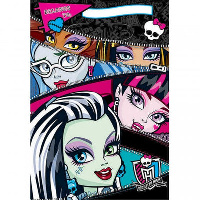 Monster High Folded Loot Bag