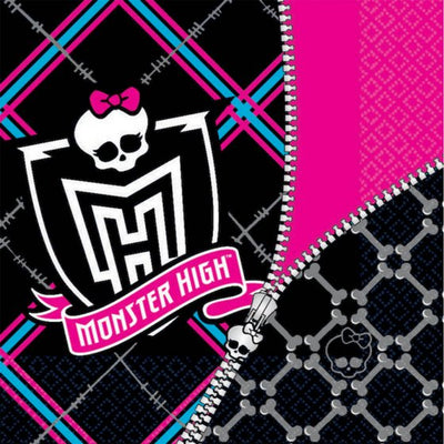 Monster High Lunch Napkins